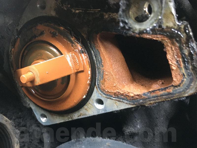 e36 rusty thermostat