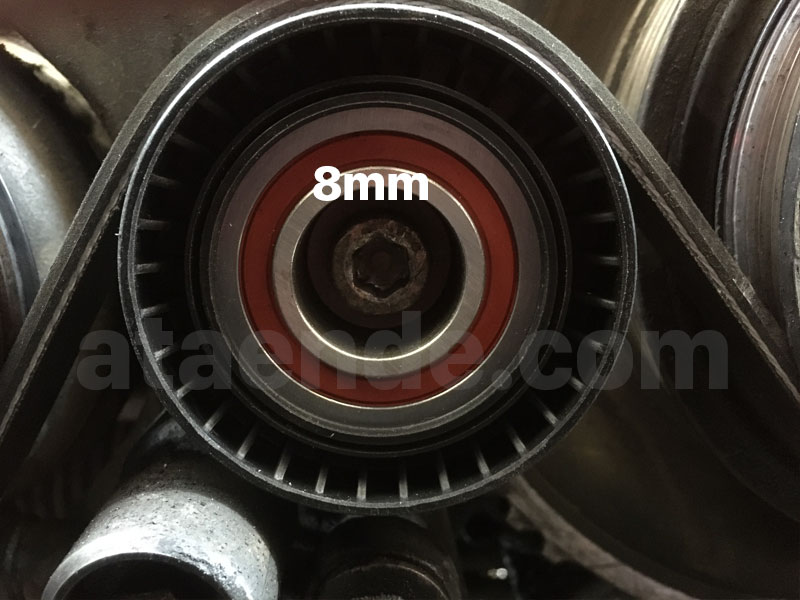 e36 ac tensioner pulley