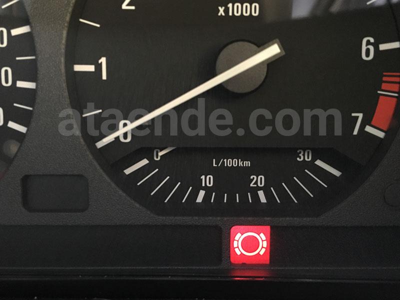 brake warning light e36