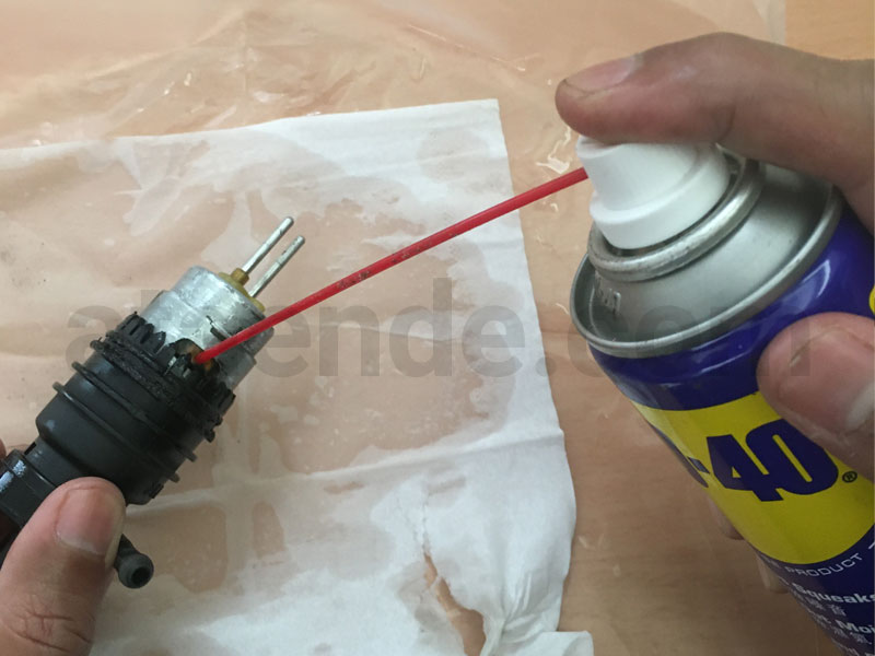 washer pump wd45 cleaning
