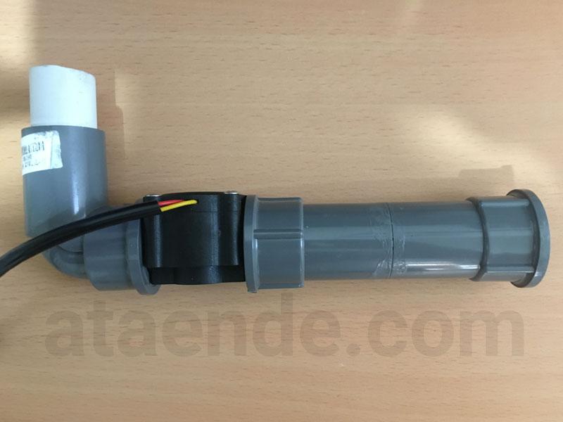 sensor aliran air toren