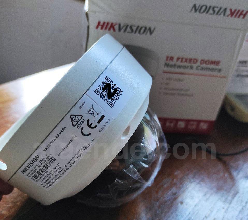 Ip camera hikvision